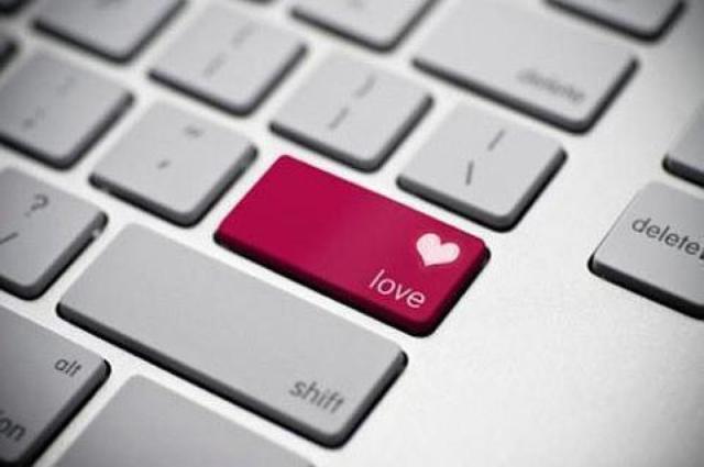 clavier avec une touche love