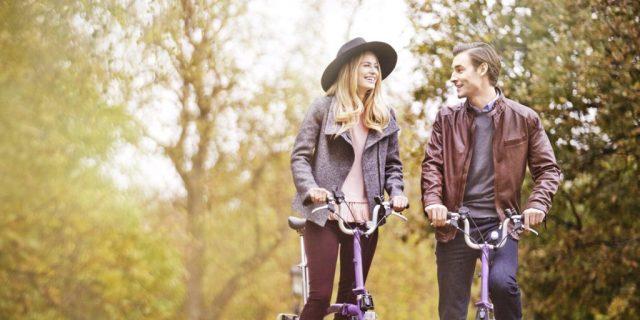 Couple en forêt
